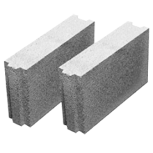Пазогребневый керамзитобетонный блок